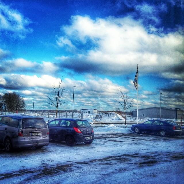 Kallt i Mellerud!#mobilephotography #winter #adesworld