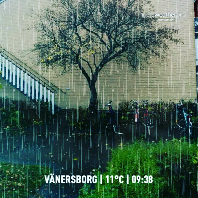 Video made with InstaWeather App  Free App! @instaweatherpro #instaweather #instaweatherpro #weather #wx #android #vänersborg #sverige #day #autumn #rain #afternoon #se #instaweathervideo