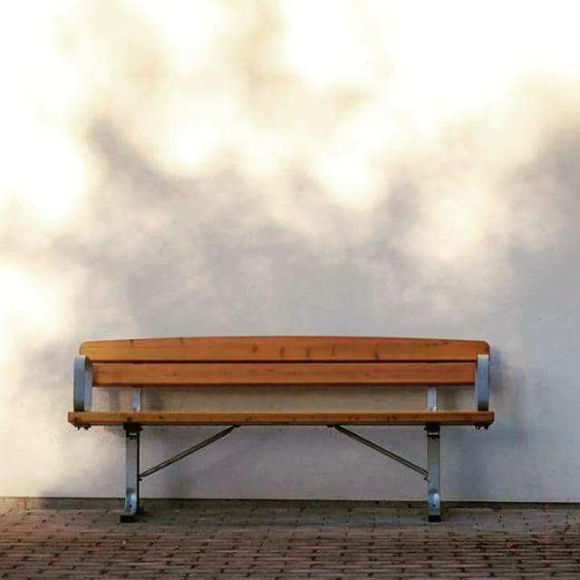 Empty bench. #urban #stylish